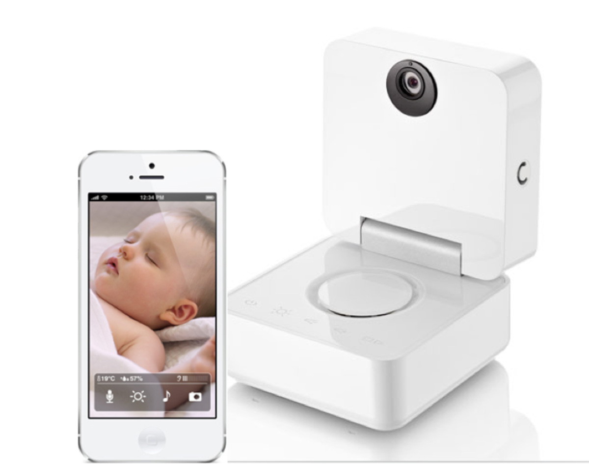 Withings iPhone app and Wi-Fi baby monitor