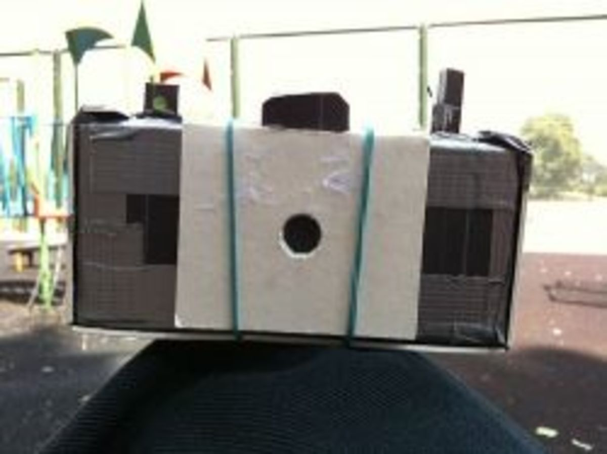 Pinhole camera by Andee Collard