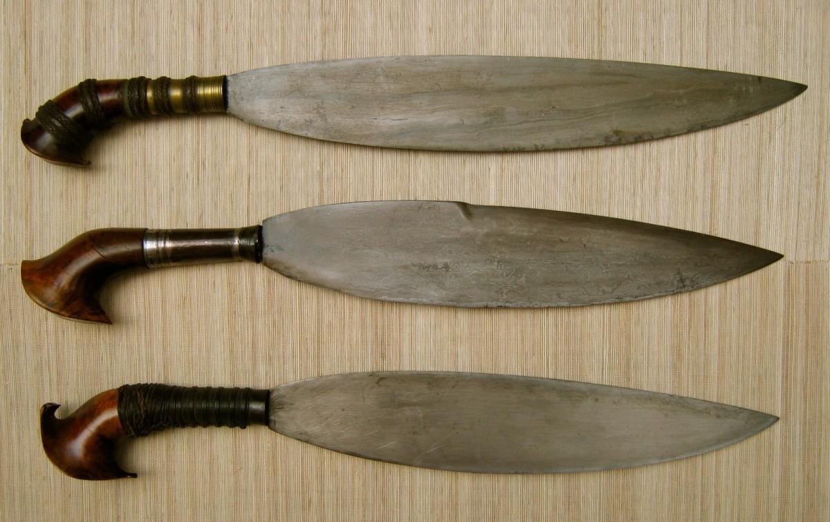 The moro barong sword.
