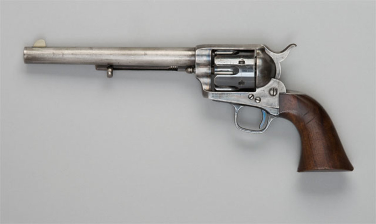 Colt Single Action Army revolver.