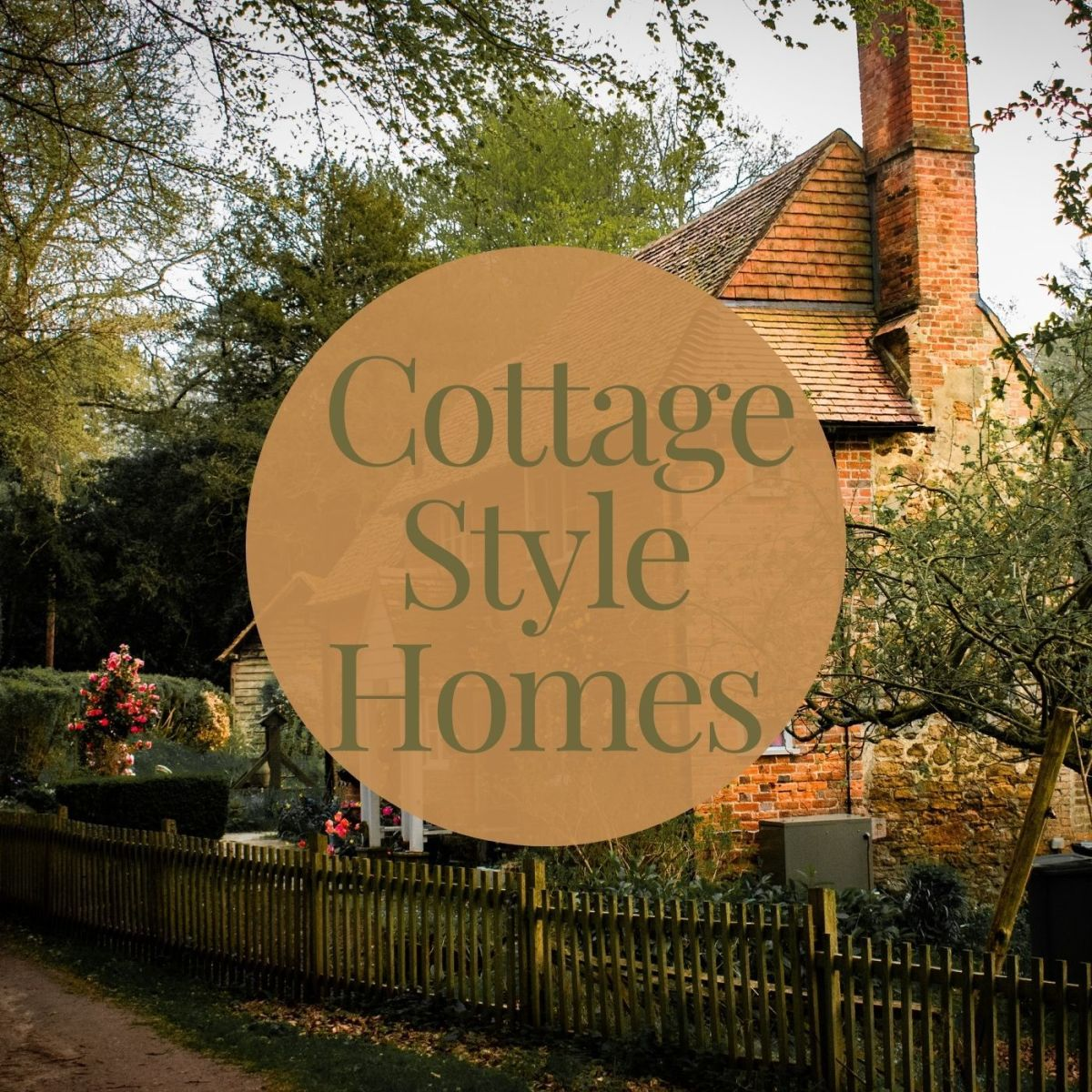 Cottage style is casual, cozy, comfortable, and charming.