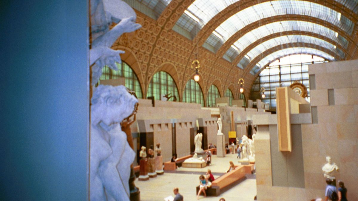 """The restored railway station now is home to some of the world's most treasured art"""