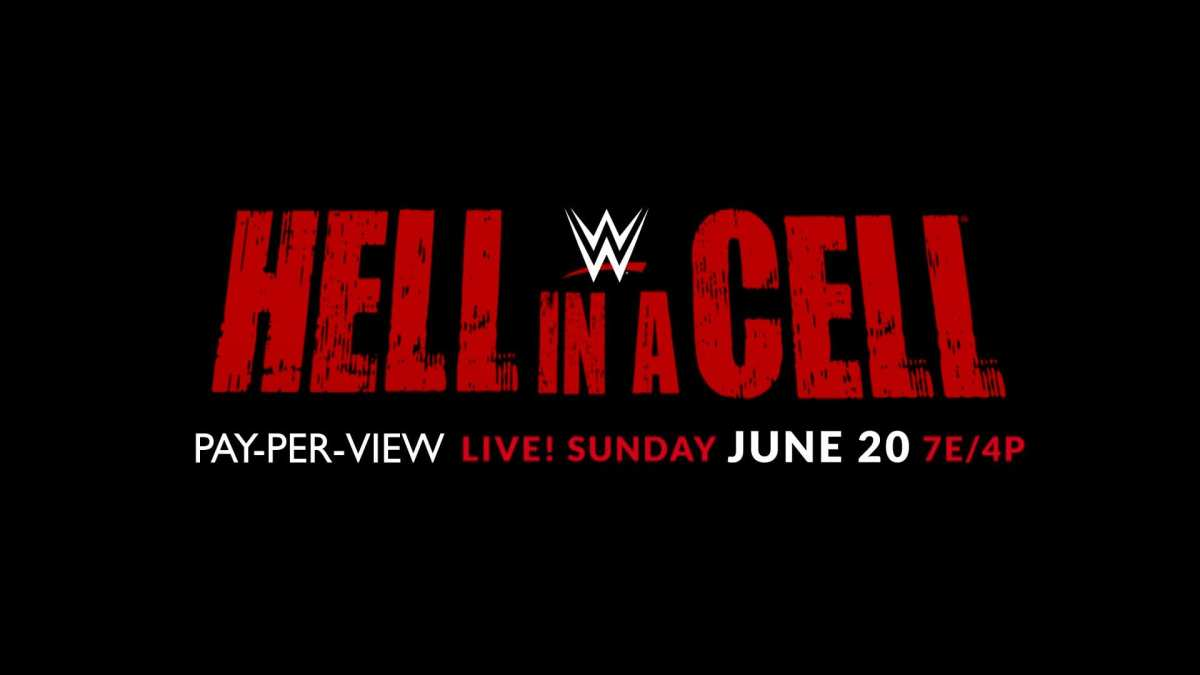 The Hell in a Cell promotional poster for 2021