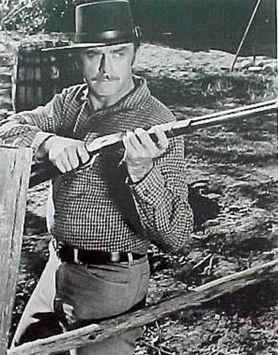 John Denher as Morgan Star on the Virginian
