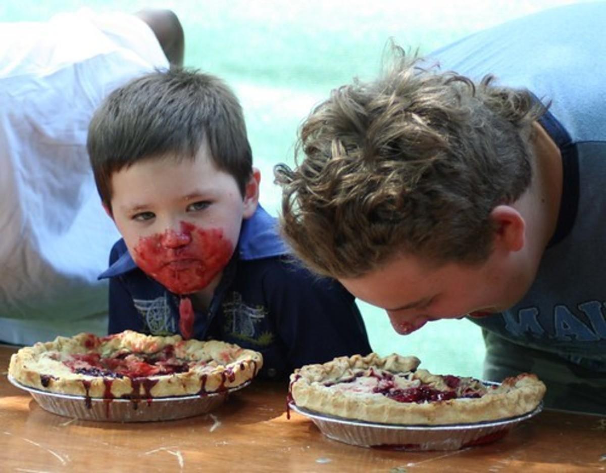 Pi(e) eating contest.