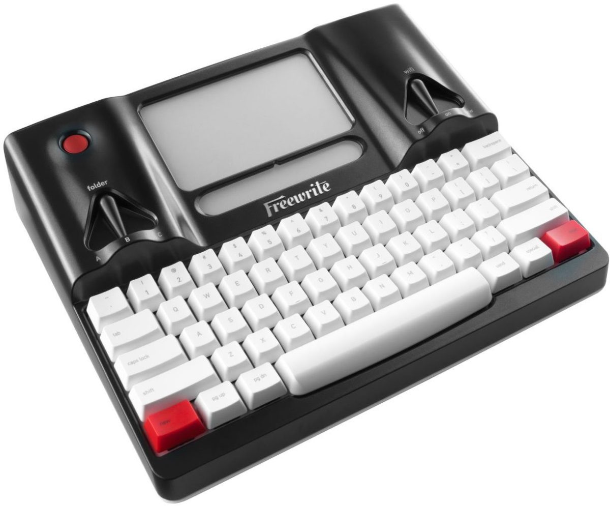 With its tiny grayscale screen, Freewrite is only suitable for one thing - writing - but that's kind of the whole point.