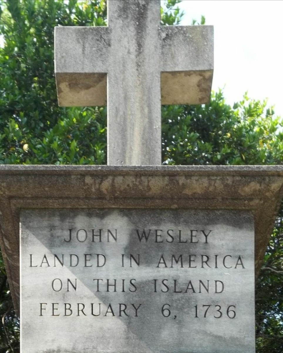 Wesley Monument