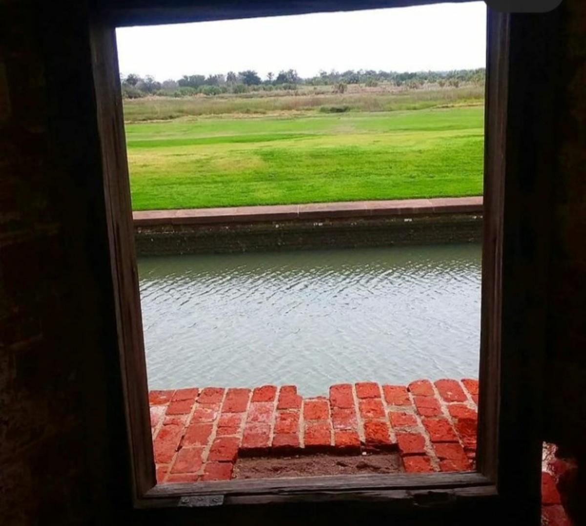 A Little Window Into My World; Fort Pulaski in Georgia