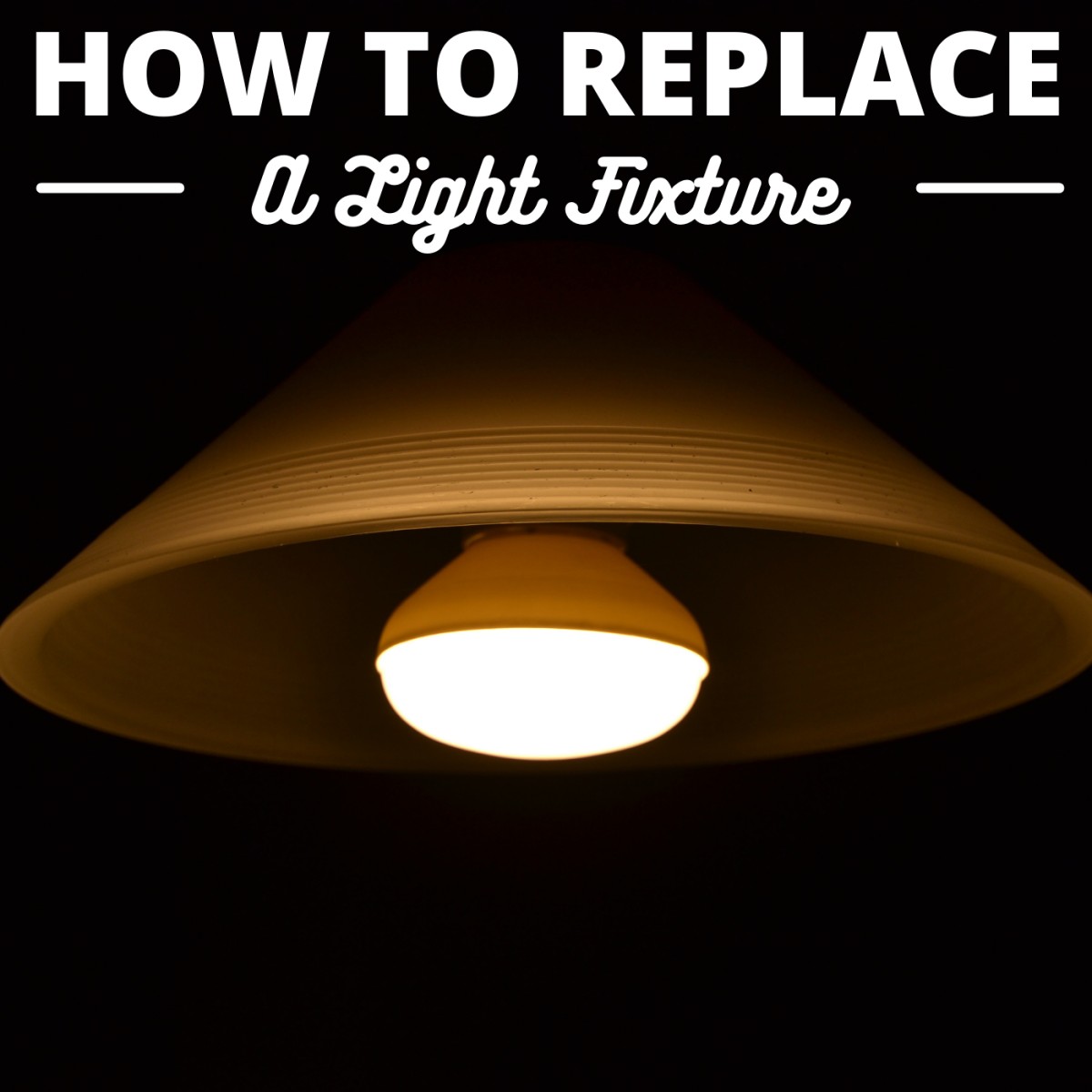 Learn how to install and wire a new light fixture at home using basic tools.