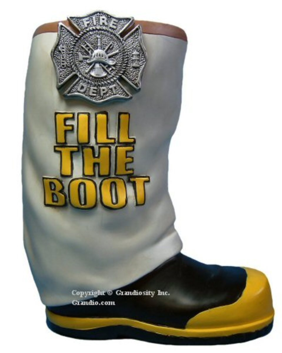 Firefighters have been urging people to fill the boot for ages now.