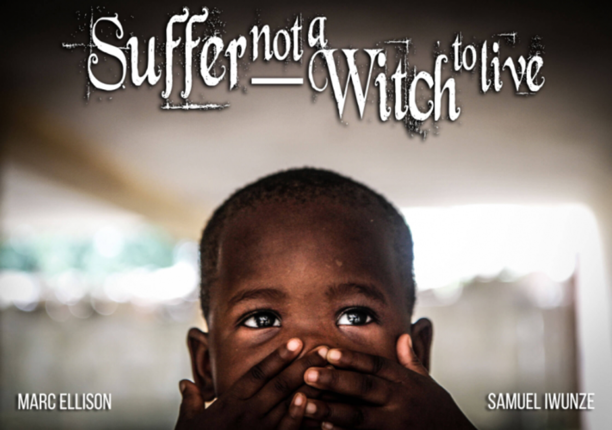 A child accused of being a witch at a safe house in Calabar, Nigeria.