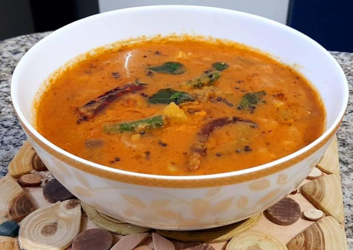 A lentil based stew