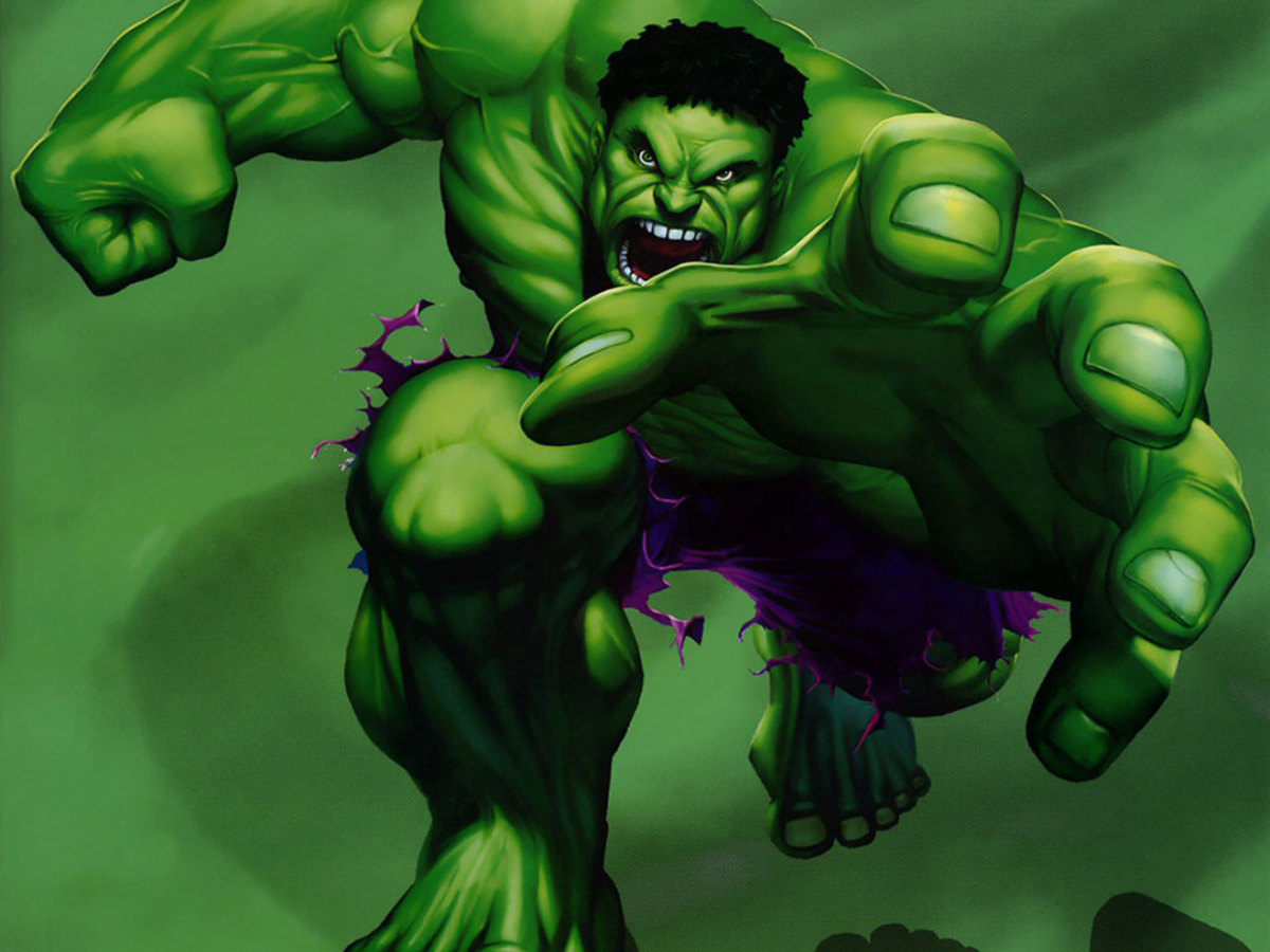 The evolution of the 'Hulk' on television and film.