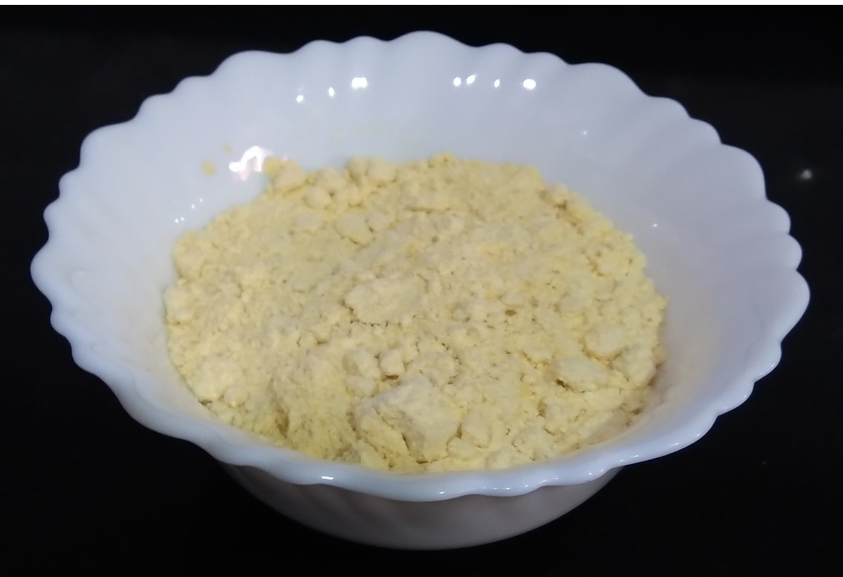 6 tablespoons besan