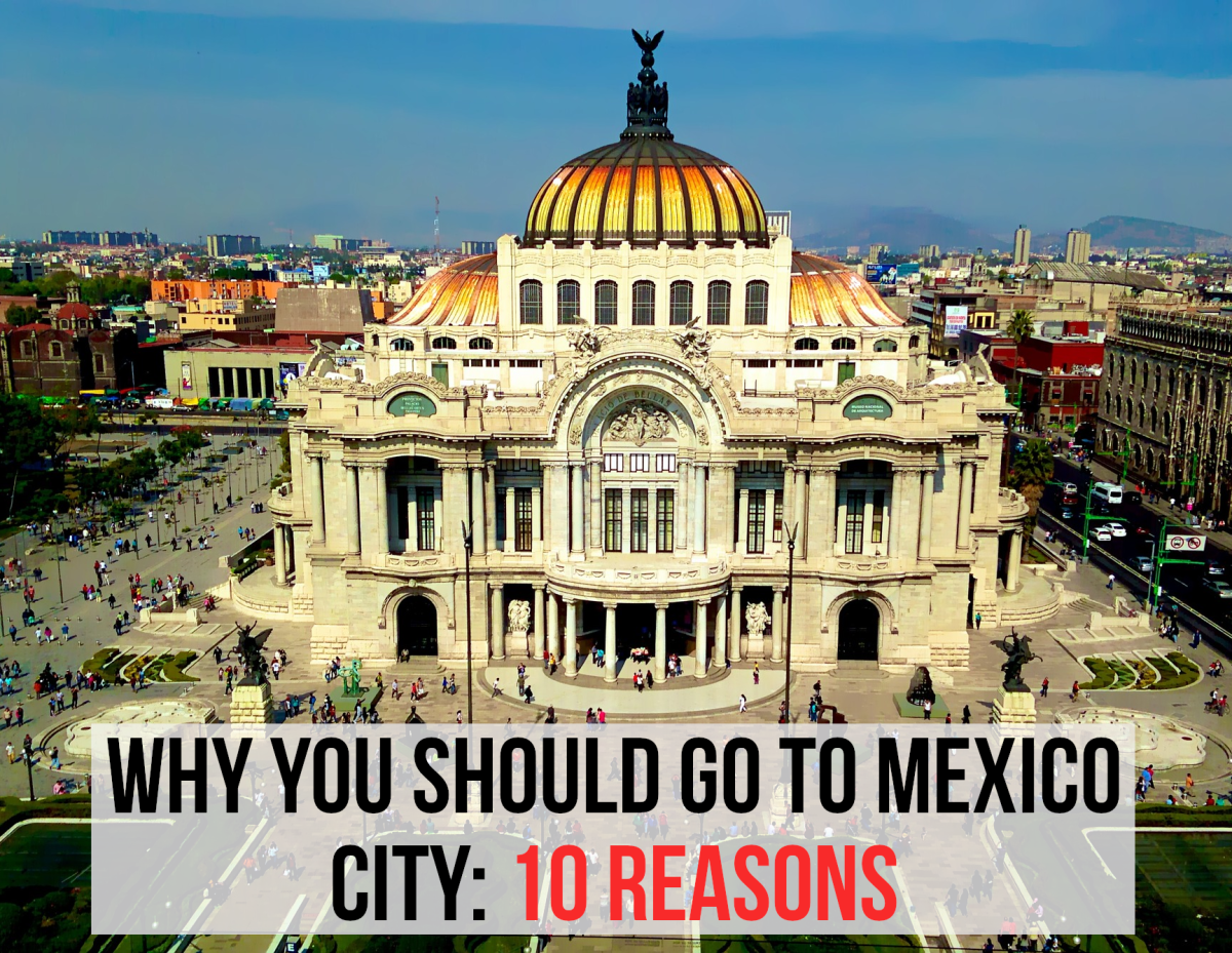 For my list of reasons why you should visit Mexico City, please read on...