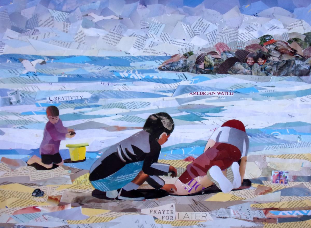 Sandcastles Collage