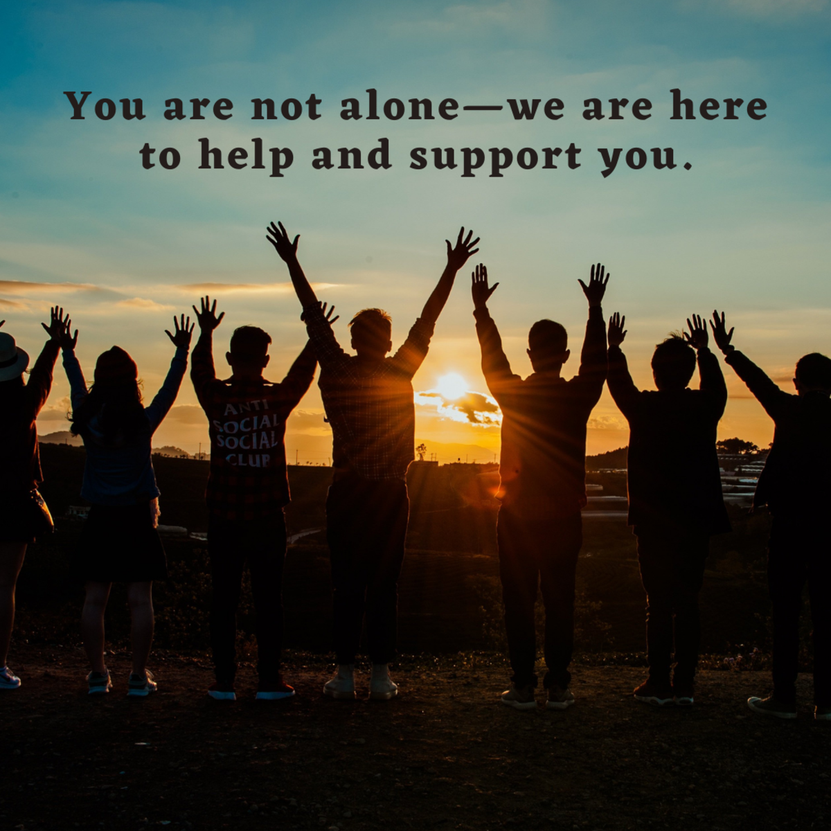 Be supportive—sometimes, it takes a village to get through a challenging life change like a divorce, so let your friend or loved one know that they are adored and supported by everyone around them.