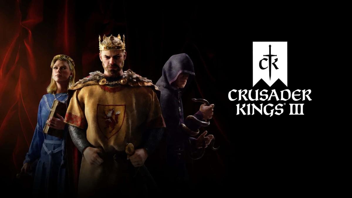 """""""Crusader Kings III"""" official art."""