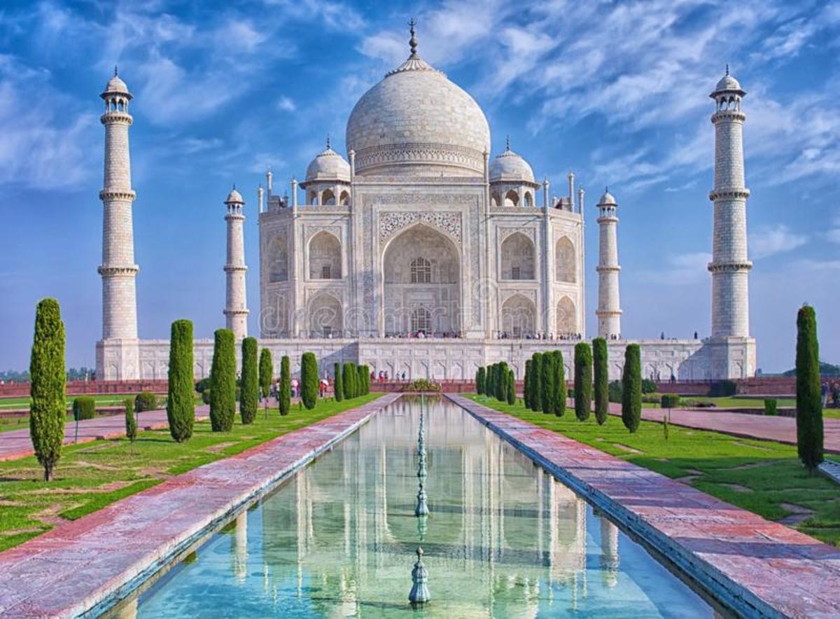 Taj Mahal - a Masterpiece of Mughal Architecture
