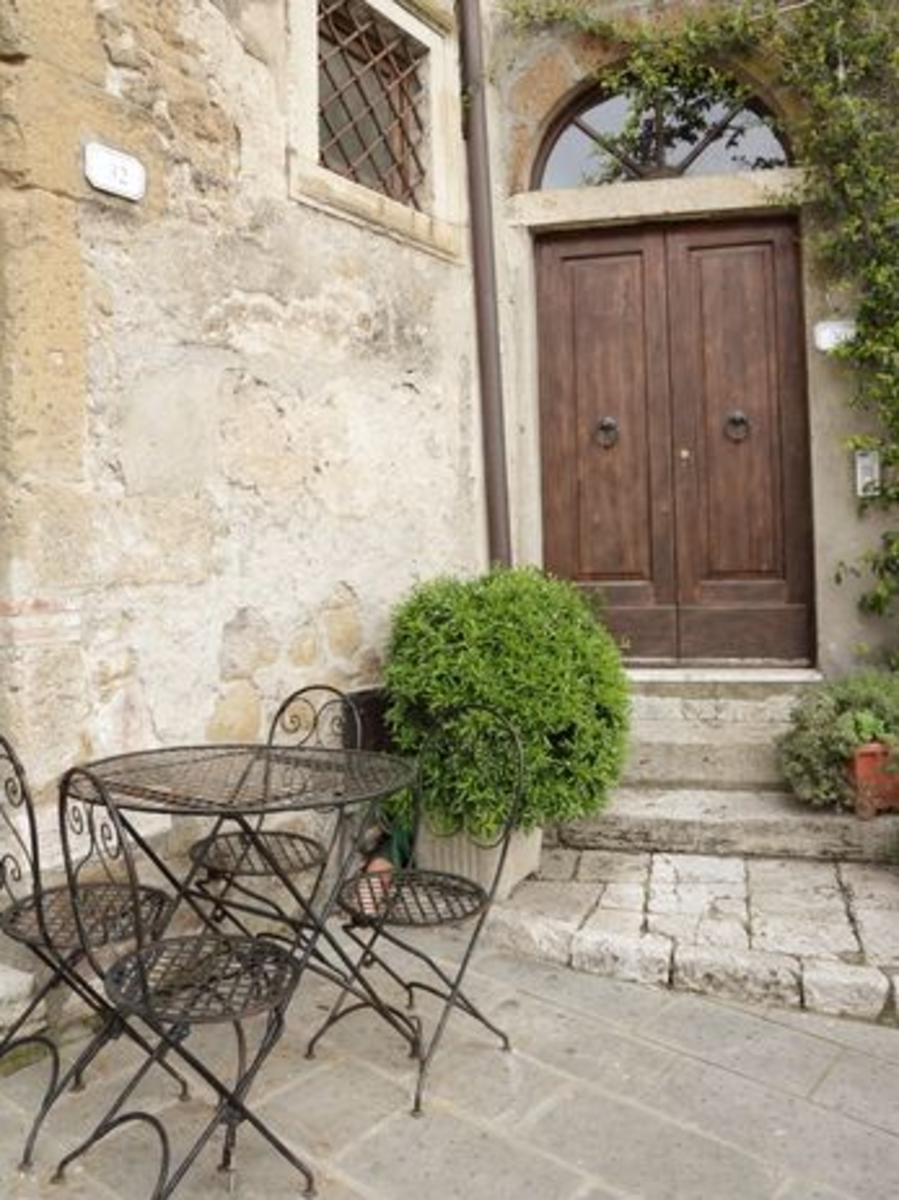 Tuscan Patio Styles