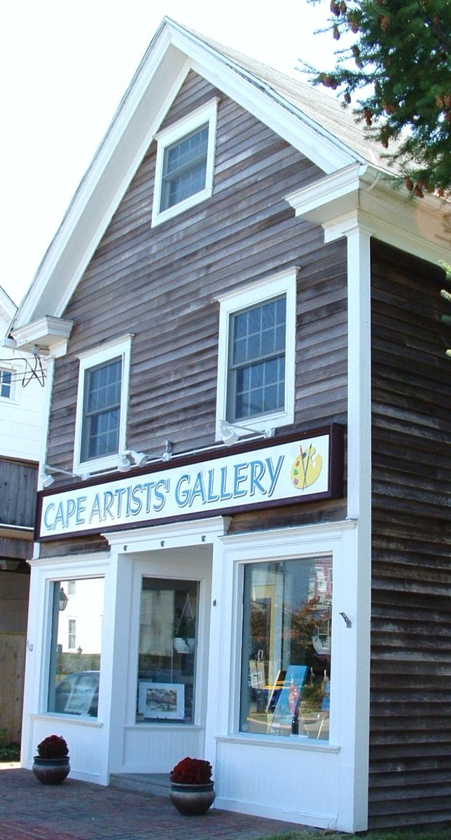 Cape Artists' Gallery is a cooperative gallery featuring work by local artists.
