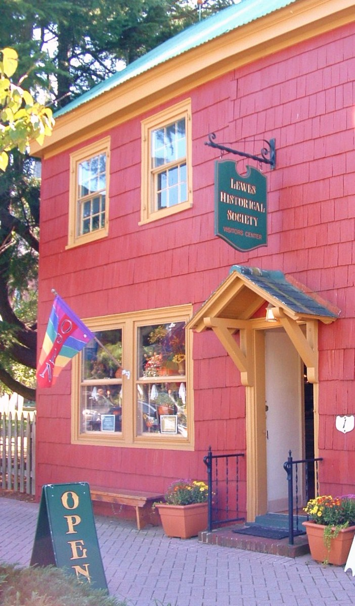 The Ryves Holt House is currently used as the Lewes Historical Society Visitor Information Center and gift shop. It is the oldest house in Delaware.