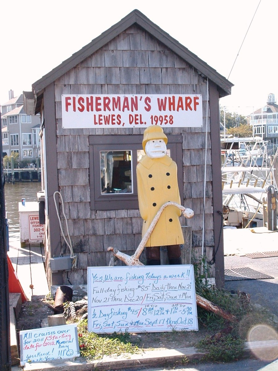 Fisherman's Wharf on other side of canal.