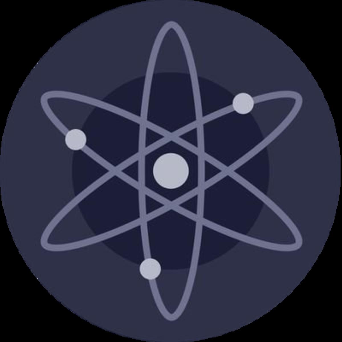The Cosmos and ATOM logo