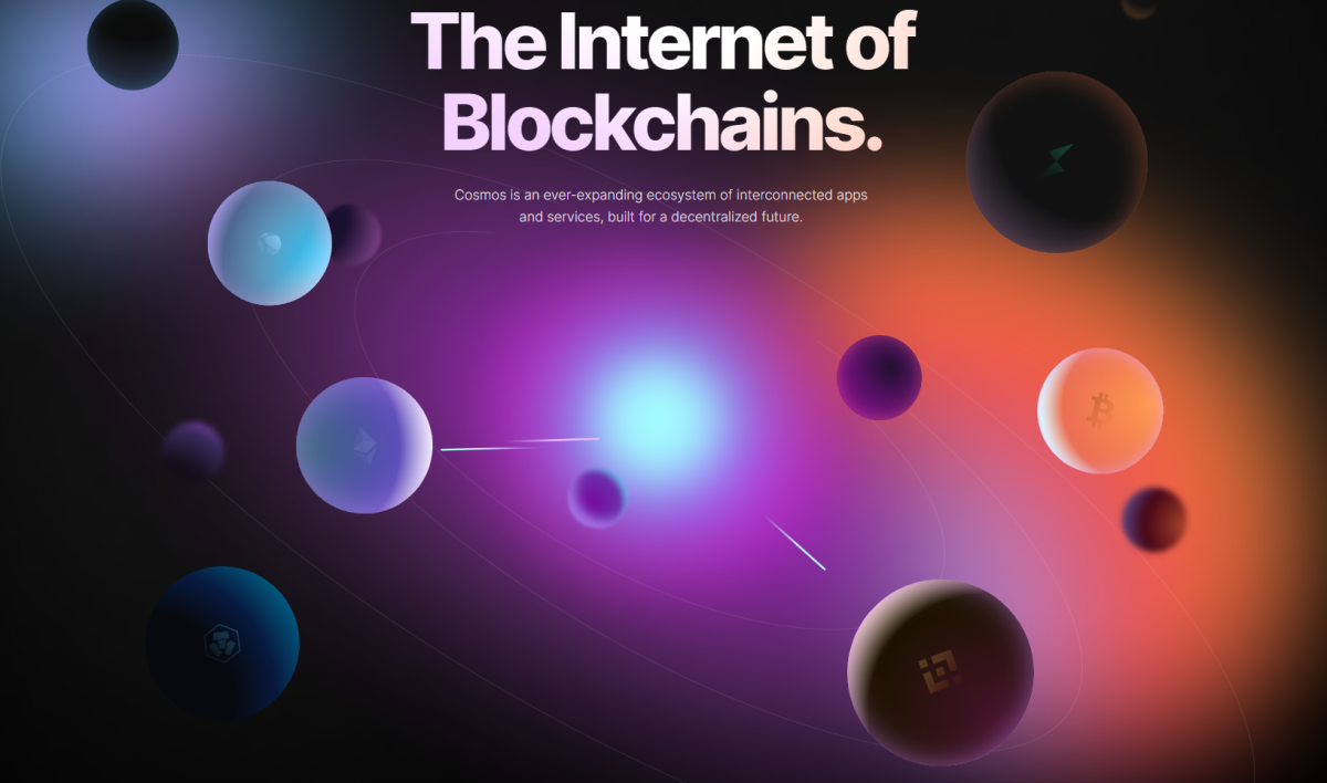 Cosmos is a united universe of different blockchains.
