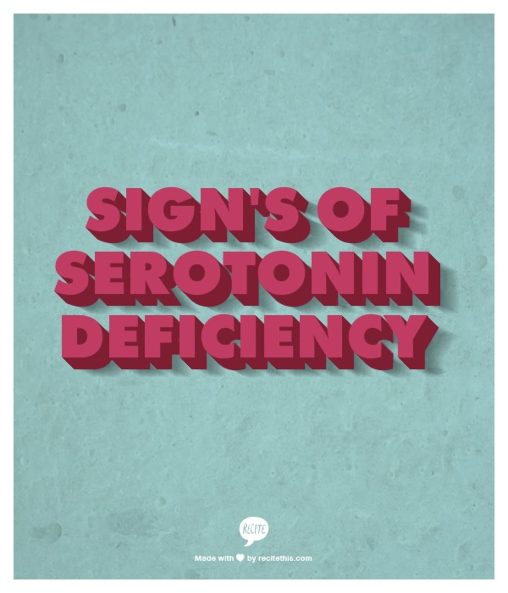 14 Sign's Of Serotonin Imbalance