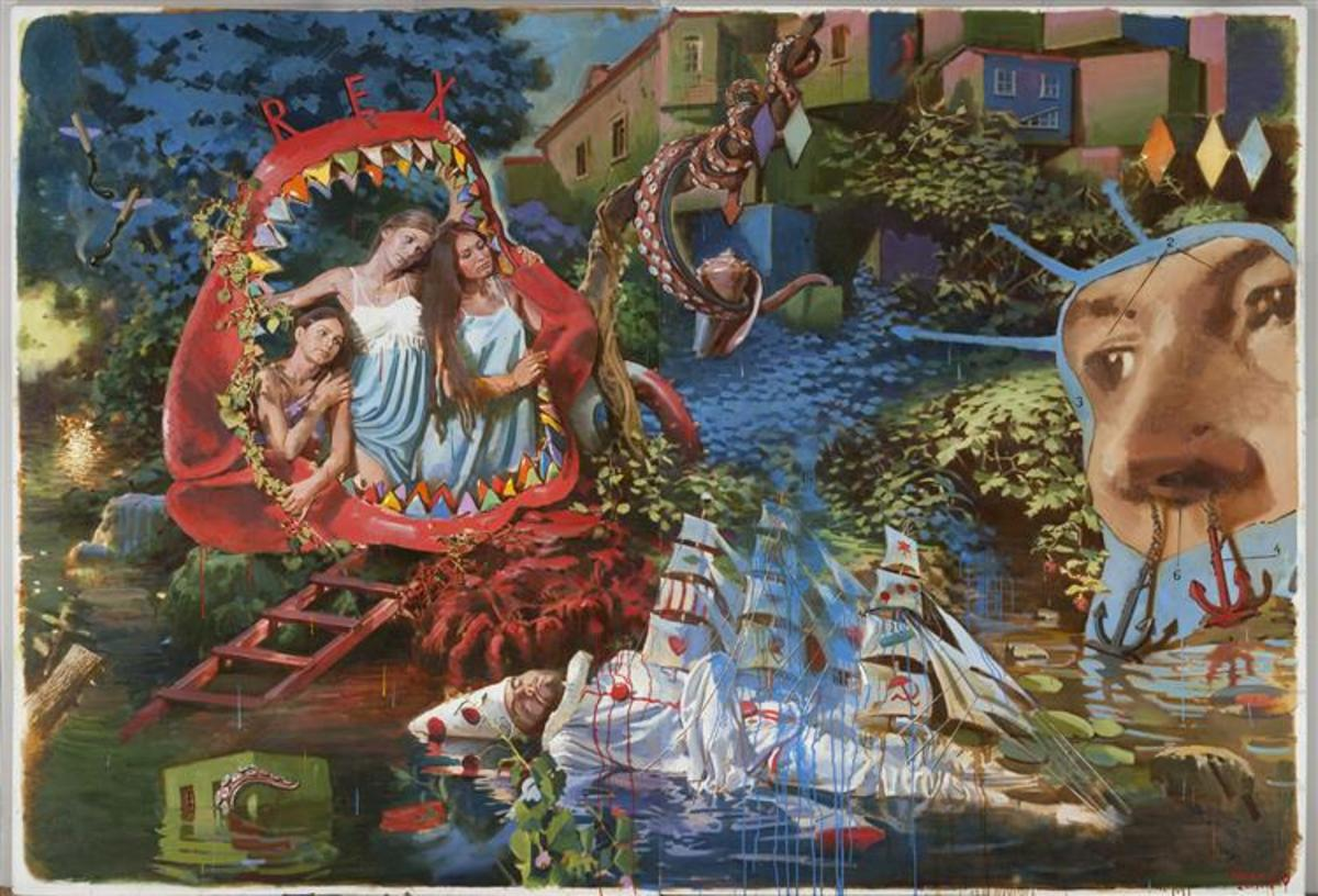 Gimn of Poseidon by Arsen Savadov