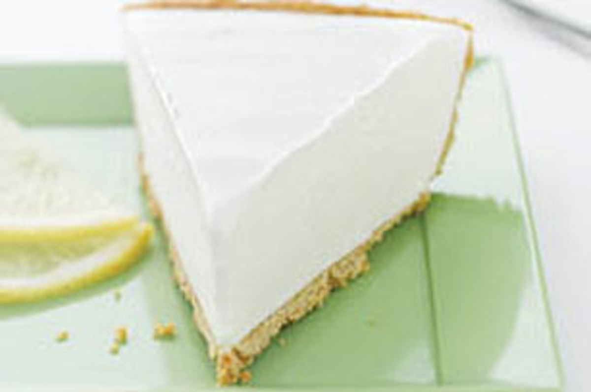 Here's a recipe for Lemonade Stand Pie that everyone loves and enjoys. I bet you can't eat just one slice. It really is that delicious.