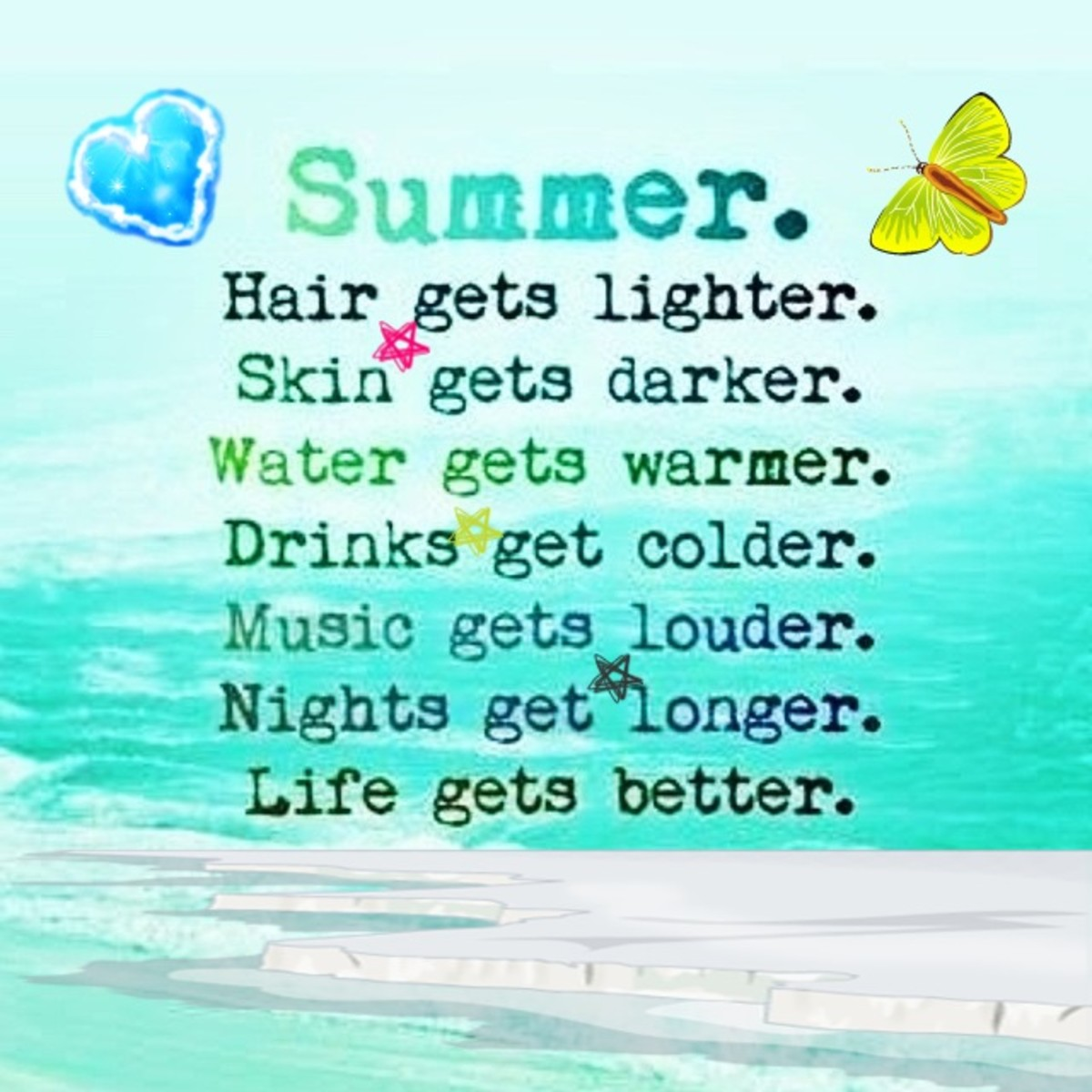 Cute Summer Quotes For Instagram