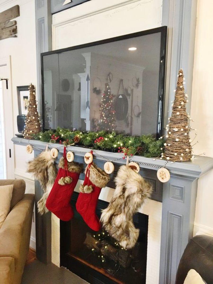 christmas-mantel-decorations