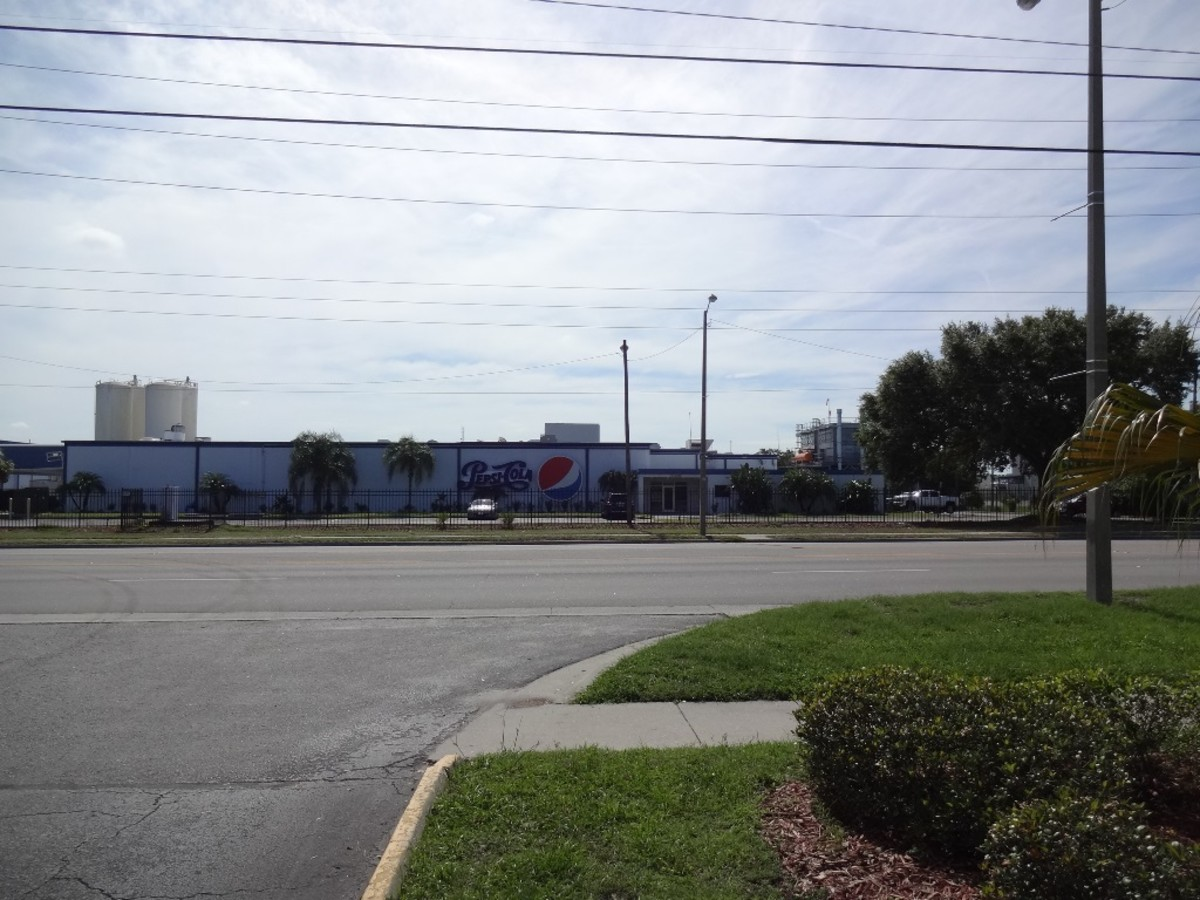 We'd driven past this factory hundreds of times over the years.
