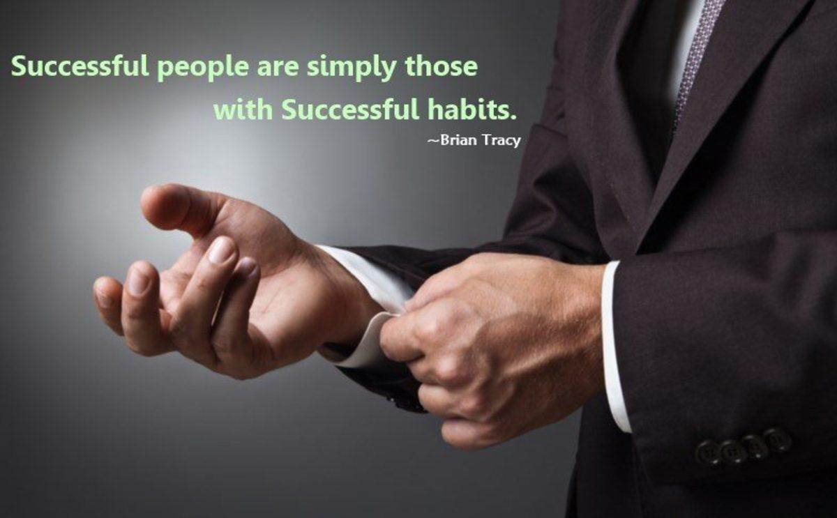 Successful People Poses Successful Habits