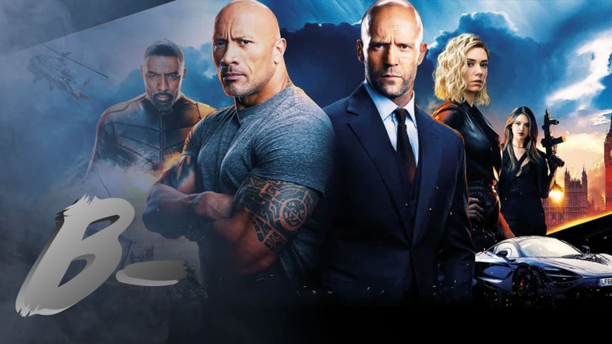 Hobbs & Shaw has some issues with editing, but overall still manages a pleasant B- grade.