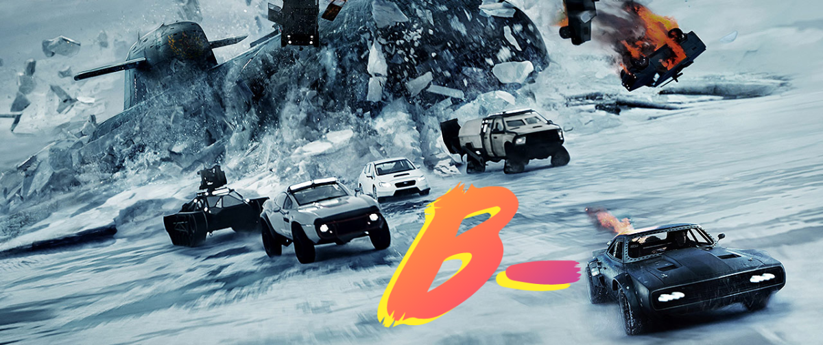 Fate of the Furious gets a B- from me! A good time, but missing a little something.