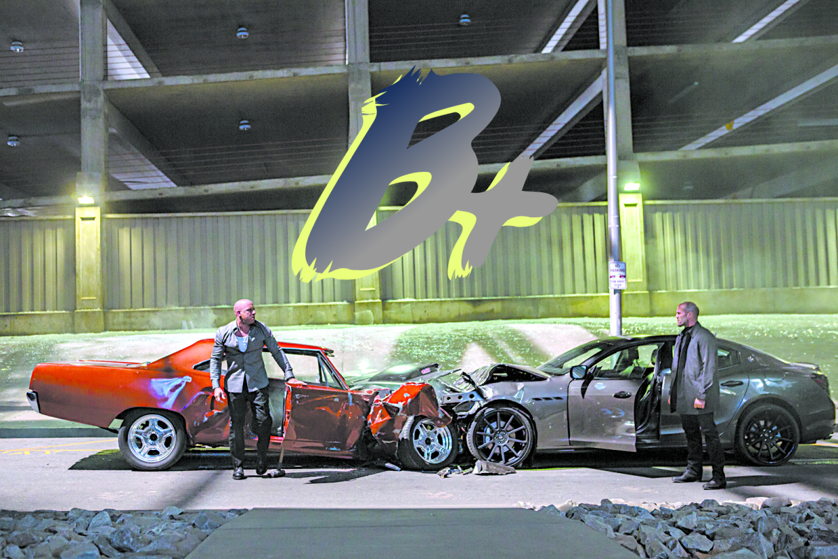 Furious 7 does a lot to salvage its own self and succeeds with a B+
