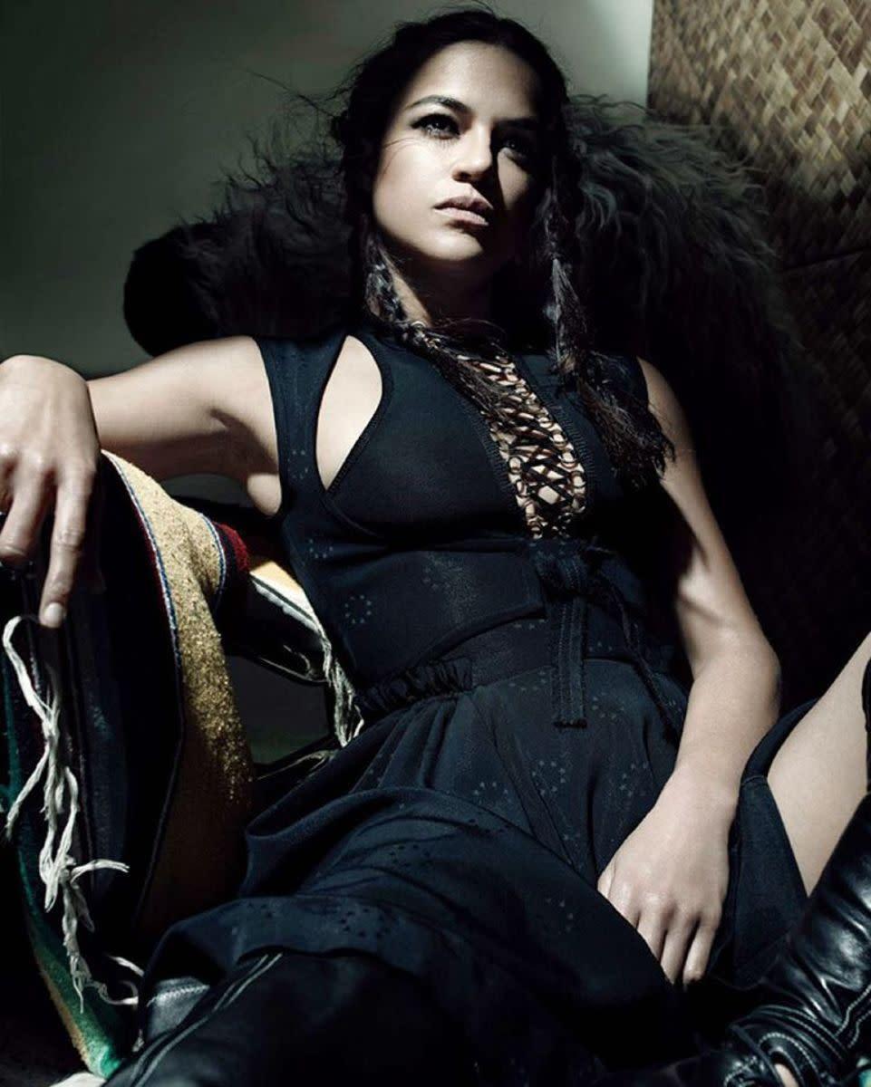 Michelle Rodriguez is a badass.