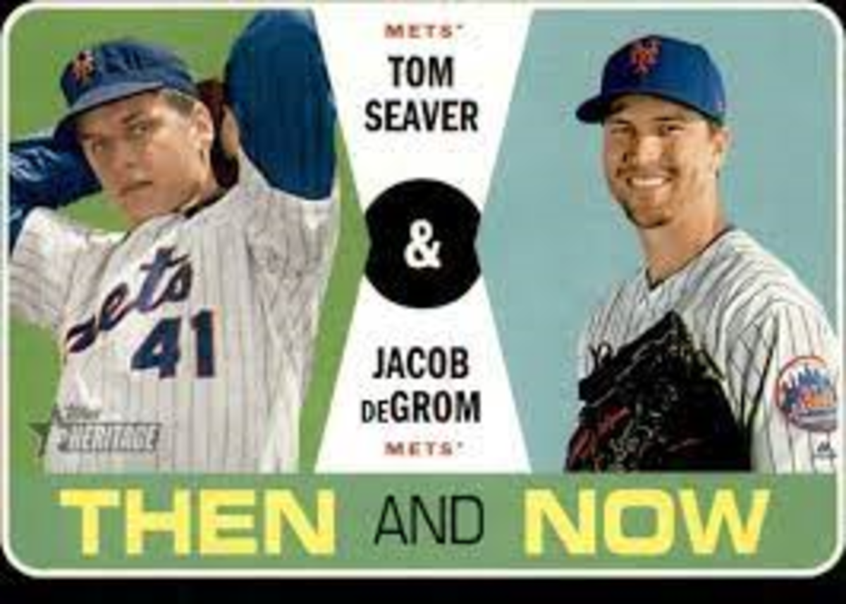 Is Jacob deGrom the current day Tom Seaver?
