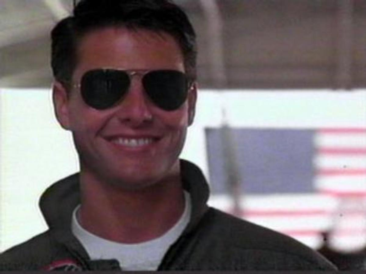 """Maverick""...Smiling as ""The One"""
