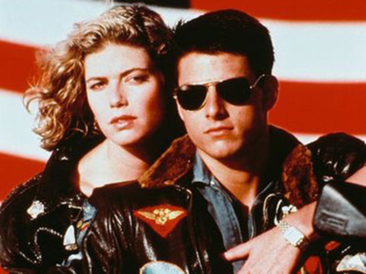 "Classic ""Top Gun"" photo. This is my own personal...all time favorite movie...still to this day."