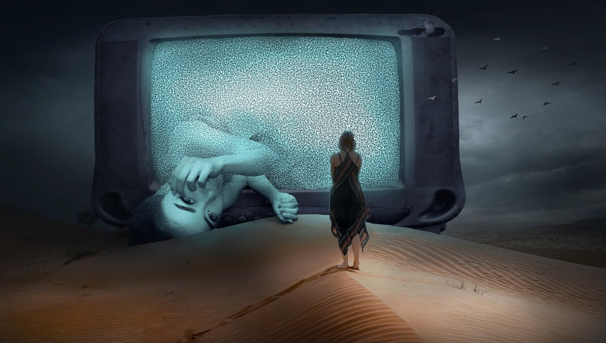 There Is a Rasputin's Finger Snap Shifting Us into the Virtual Reality of Matrix in That TV Screen