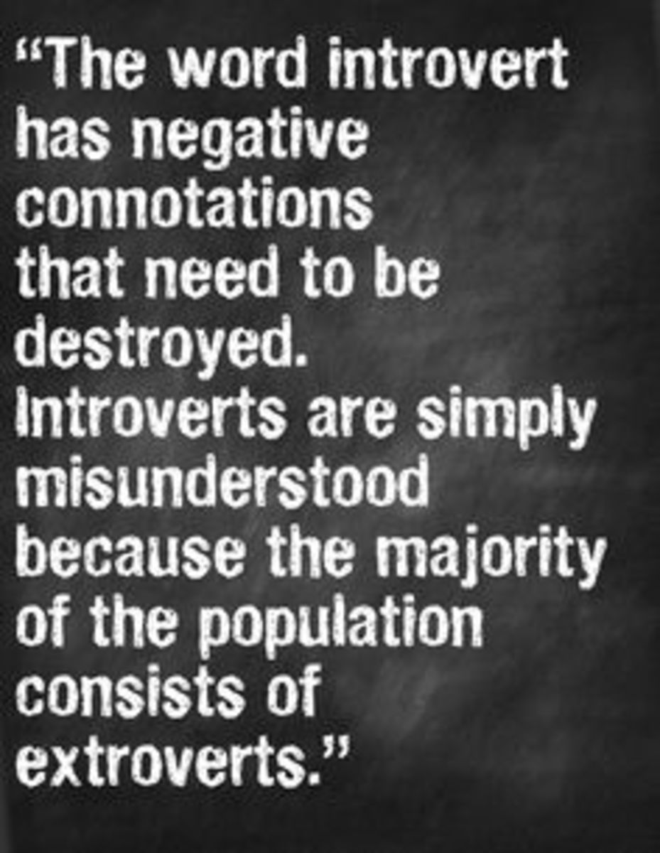 What is UNDERSTOOD THE LEAST about....INTROVERSION?