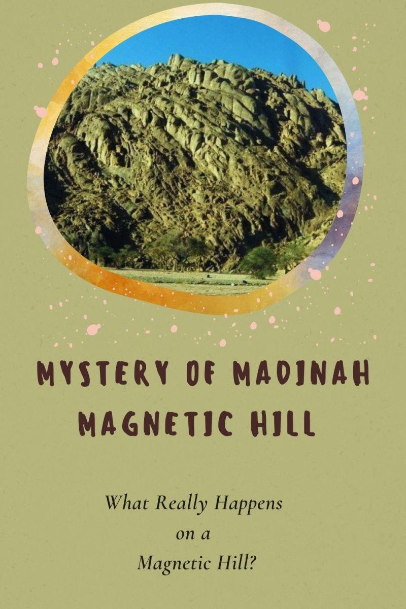 Rugged but beautiful mountains at Wadi al-Jinn in Madinah Magnetic Hills