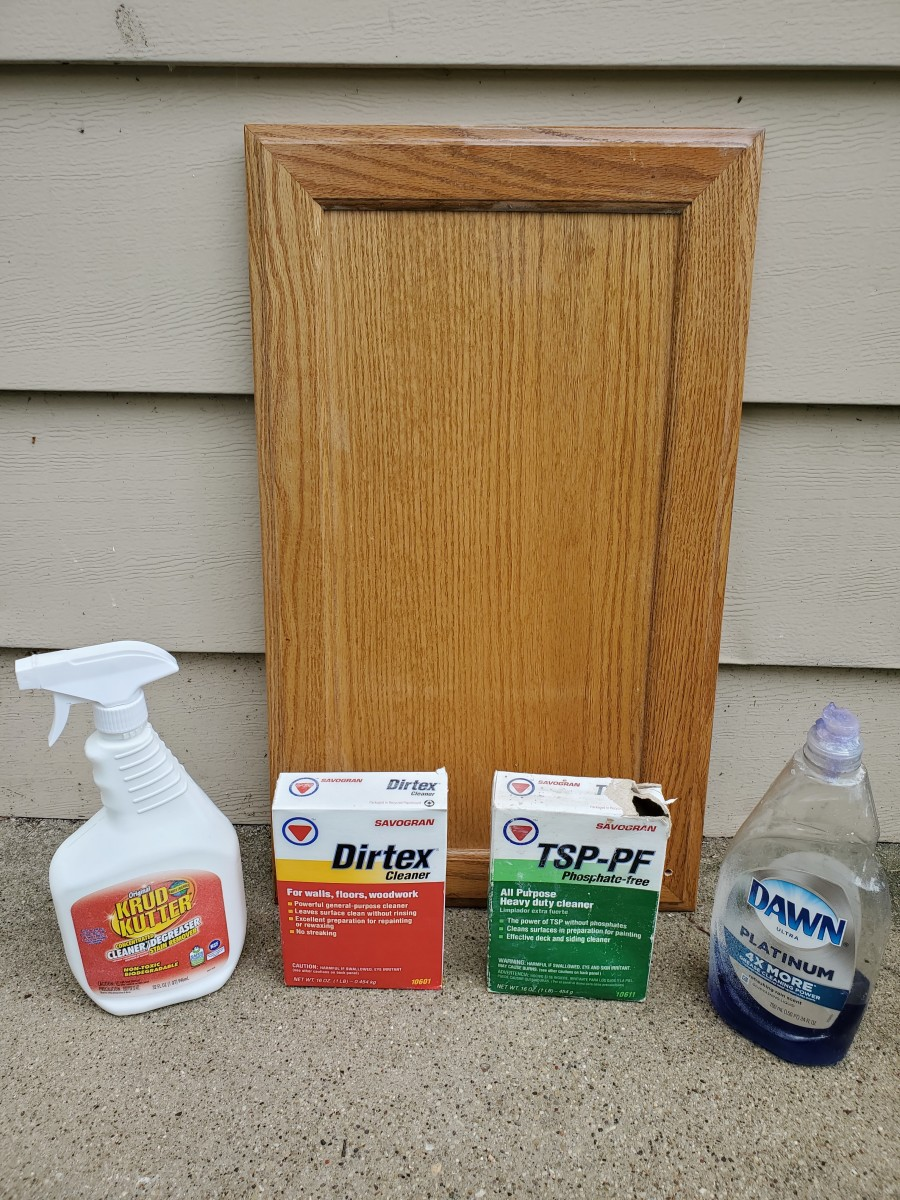 The best degreaser for kitchen cabinets.