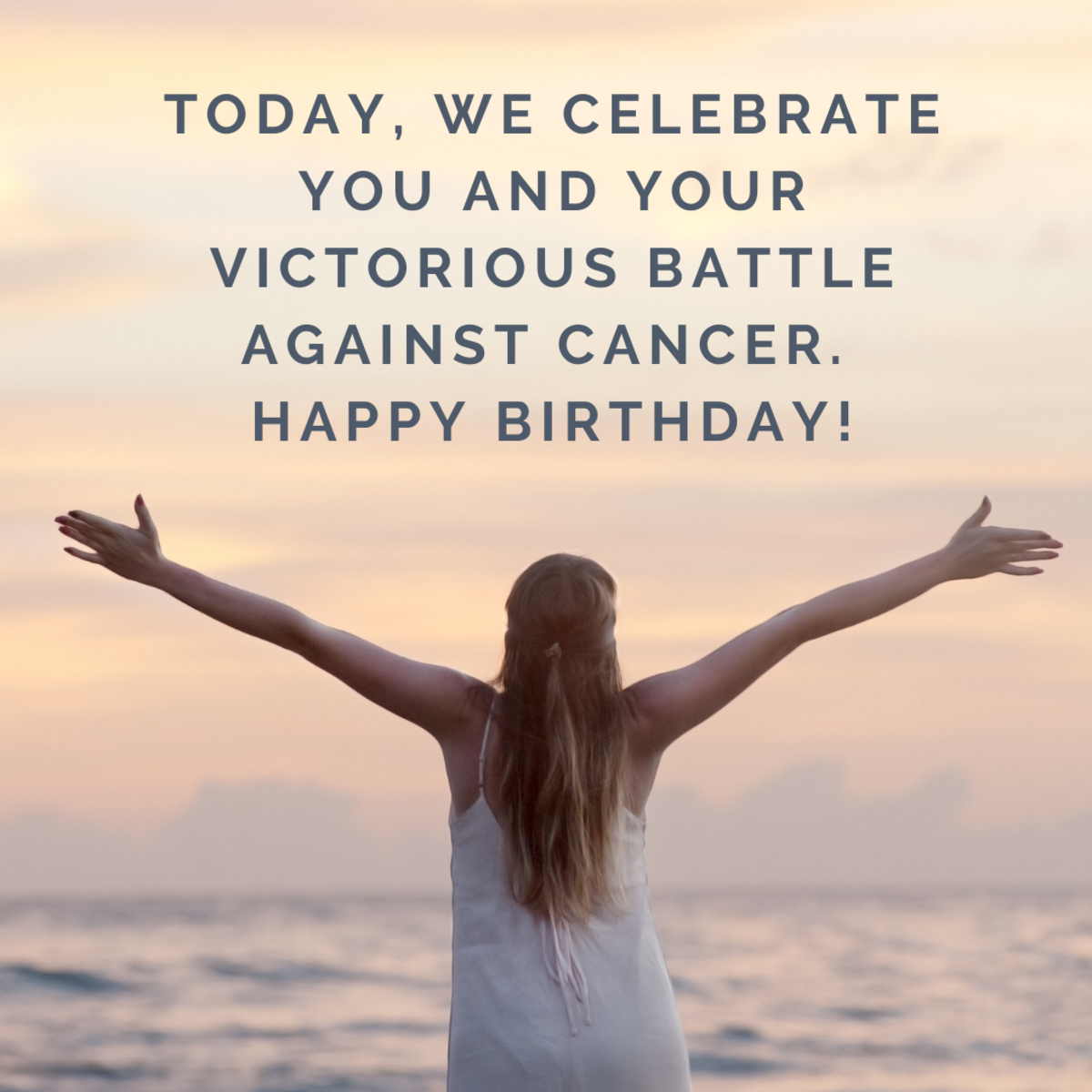 The first birthday after winning the battle against cancer is a wonderful opportunity to celebrate the victory of defeating this terrible disease.