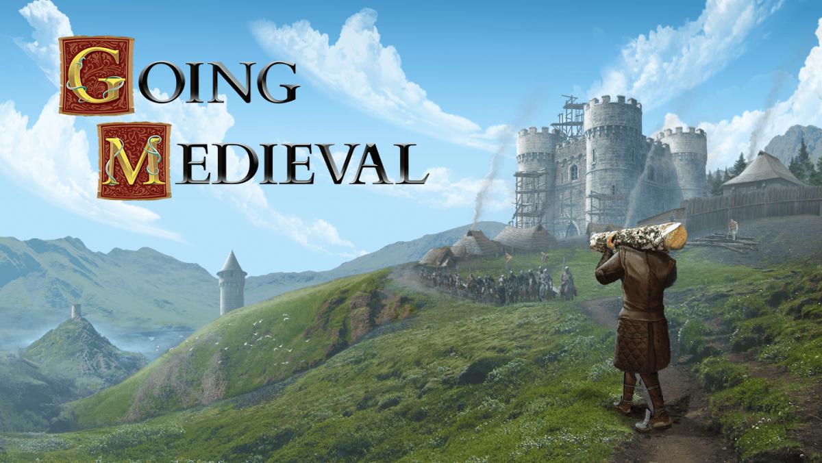 """Going Medieval"" key art."