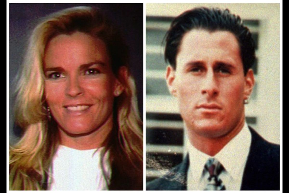 Nicole Simpson and Ron Goldman